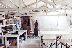 Yuriko Takagi Studio | http://www.yellowtrace.com.au/artist-studios-and-ateliers/