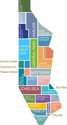 Printable New York City Map Bronx Brooklyn Manhattan
