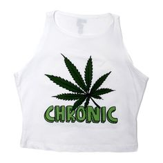 THE CHRONIC CROP TOP (165 RON) ❤ liked on Polyvore featuring tops, shirts, crop tops, tanks, shirt top, cut-out crop tops, cropped shirts, graphic tops and shirt crop top