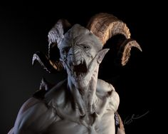 Katon Callaway Art: God of War 3 (know it's not a sculpture, but a great reference for one!)