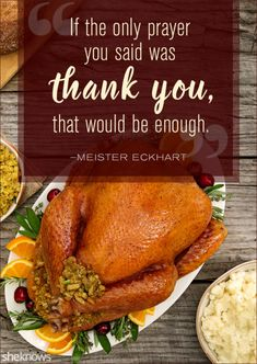 Thanksgiving Quotes Perfect to Read Around the Dinner Table This Holiday