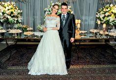 A boda dos sonhos de Thaís Pacholek e Bruno Belutti