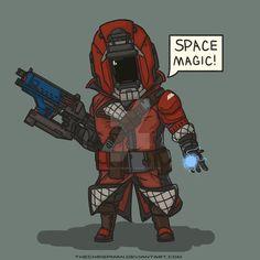 Destiny- Cute Warlock by TheChrisPMan.deviantart.com on @DeviantArt