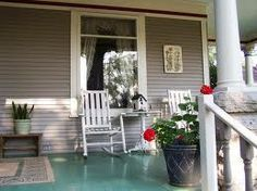 McConnell Inn, Green Lake, WI.  Comfortable and Inviting Porch