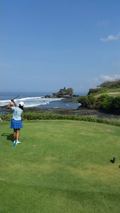 Golfing Nirwana #golf and country club #canggu #bali #tanahlot