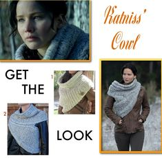 Jody!!!! I will take one in black! please!!!Katniss Cowl Scarf Sweater Catching Fire Get The Look Dupe Catching Fire Fashion: The Story Behind Katniss Cowl