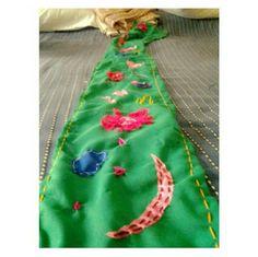 Patch-work scarf. @aaroolya