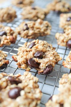 Easy Banana Chocolate Chip Cookies – Only four ingredients! - Gluten Free & Vegan