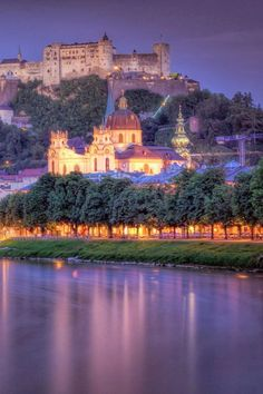 Salzburg, Austria one of the most beautiful places I have traveled.