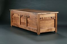 greene and greene blanket chest - Reader's Gallery - Fine Woodworking
