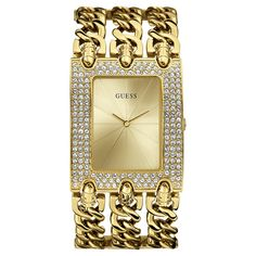 Guess Damenuhr W0315L2 Gold