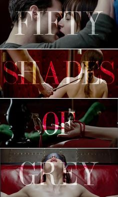 """Brace Yourself """"Fifty Shades Of Grey"""" is coming. #ClickToWatch the first official trailer here. #FiftyShadesOfGrey"""