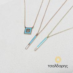 Info: 210 6810081 ΤΣΑΛΔΑΡΗΣ Κεντρικό: Αγ.Παρασκευής 30 Χαλάνδρι #κολιε #χρυσο #σμαλτο #ζιργκον #tsaldaris Arrow Necklace, Jewelry, Jewlery, Jewerly, Schmuck, Jewels, Jewelery, Fine Jewelry, Jewel