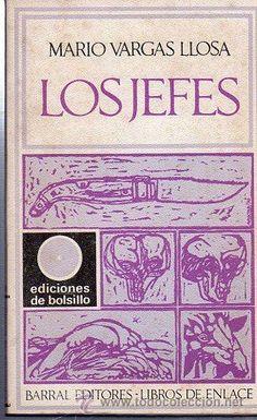LOS JEFES, MARIO VARGAS LLOSA, BARRAL EDITORES, BARCELONA, 1971. 120 PÁGS. 19X12CM - Foto 1