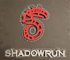 My very first string art. The Logo from the famous Pen'n'Paper RPG.