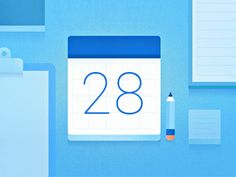 Did some background cards for Google's new Inbox app. Here's one for calendar / event reminders.