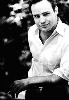 Marlon Brando, late-1950s.