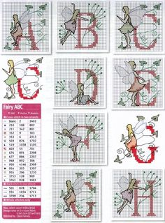 Dandelion fairy magic alphabet 2