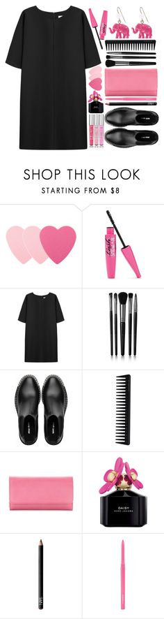 """Simplicity!!"" by razone ❤ liked on Polyvore featuring Sephora Collection, Non, Illamasqua, Miu Miu, GHD, Croft & Barrow, Marc Jacobs, NARS Cosmetics, MAC Cosmetics and Tarina Tarantino"