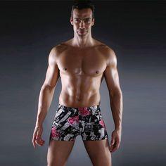 b0b2a71ac2 Multi Prints Men Swimming Trunks Swimwear Male Swim Sport Briefs Swimsuit  Beach Boxer Shorts Wear Bathing Suit . Starting at  1