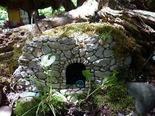Cave for Miniature Fairy Garden / Gnome /Hobbit House,Indoor/Outdoor Fiddlehead