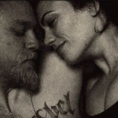 Tara Knowles and Jackson 'Jax' Teller from Sons of Anarchy:)