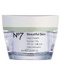 Provides a great base for make-up and has an SPF to fight ageing.