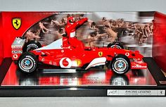 #HOTWHEELS #FERRARI F2002 #F1 #diecast model #racing car, #Champion Edition, #Michael Schumacher 1/ 18 ...LO TUVE EN EL 2003...