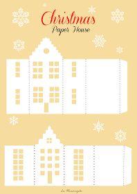 La Mandragola: Calendario dell'Avvento: 19 Dicembre - Casette di carta