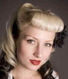 Die 8 Besten Bilder Von Frisuren 50er Jahre Pin Up Hairstyles