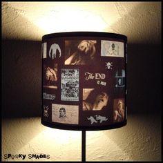 Horror movie lampshade