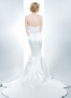 VERONIQUE - Wedding Gown / 2013 Collection - by Matthew Christopher - Available colours : White & Off White (back)
