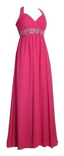 Long Elegant Halter Neck Evening Dress Empire Formal Gown Maxi Dresses halterneck For Ladies Womens Hot Pink Hot Pink Size 6 MY EVENING DRESS, http://www.amazon.co.uk/dp/B00CMBL50O/ref=cm_sw_r_pi_dp_PL5bsb1XP9143