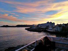 Sunset maritimo Plymouth