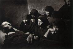 Spain. Spanish Wake, 1950 // W. Eugene Smith