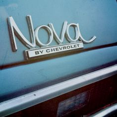 Nova My first car Nova Car, Chevy Nova, My Dream Car, Dream Cars, Chevy Hot Rod, Chevy Muscle Cars, Car Logos, Hood Ornaments, First Car