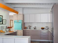 Midcentury Modern Kitchens | Kitchen Designs - Choose Kitchen Layouts & Remodeling Materials | HGTV