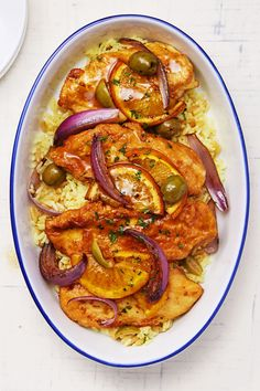 Moroccan Olive and Orange Chicken goodhousemag