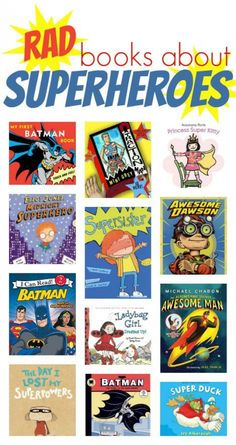 About Superheroes a dozen great superhero books for kids to check out!a dozen great superhero books for kids to check out! Superhero Books, Superhero Classroom Theme, Classroom Themes, Superhero School, Book Suggestions, Book Recommendations, Summer Reading Program, Kids Reading, Reading Nook