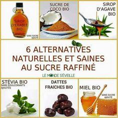 Alternatives au sucre raffiné