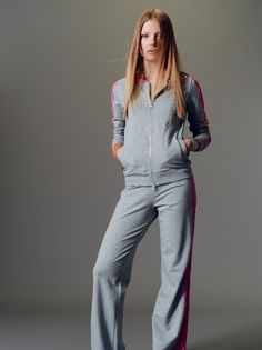 Get comfortable with Naughty Dog SS15 stretch fleece cardigan & trousers.