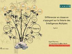 Différencier en classe en s'appuyant sur la théorie des Intelligences Multiples<br>Cycles 2 et 3<br>David Ducrocq<br>      david.ducrocq@ac-lille.fr<br>      http://www.david-ducrocq.fr<br>2016 2017<br>Pour commence...