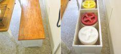 Kitchen Storage Bench.