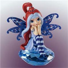 Jasmine Becket-Griffith Fairies Christmas Ornament   jasmine becket griffith simply dreamy fairy figurine