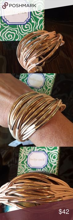 1 Hour SALE❗️Bella Jack Bracelet Bella Jack Bracelets Make a Statement w/Every Wardrobe, This gorgeous Bella Jack Bracelet Is Stunning!! A Must for Fall❗️More Colors Coming Soon! Bella Jack Jewelry Bracelets