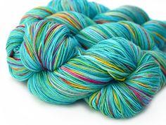 Ambrosia – Blissful Knits Hand dyed sock yarn - cashmere blend!