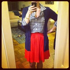 images of blue gingham outfits - Google Search