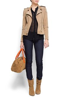 MANGO - CLOTHING - Slim-leg five pockets jeans
