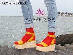 Modas que saben a recuerdos, los especialistas en calcetas y calcetines hechos en México. ¡Sól #AgaveRosa!