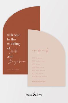 Wedding Menu, Wedding Stationary, Wedding Cards, Our Wedding, Wedding Invitations, Invites, Wedding Welcome Signs, Wedding Signs, Burnt Orange Weddings